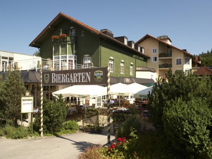 Biergarten Miesbach Hotel
