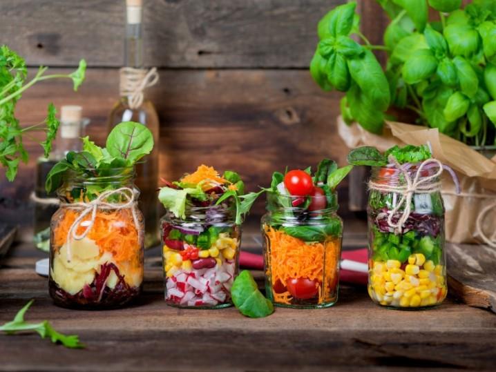 Salat Gläser