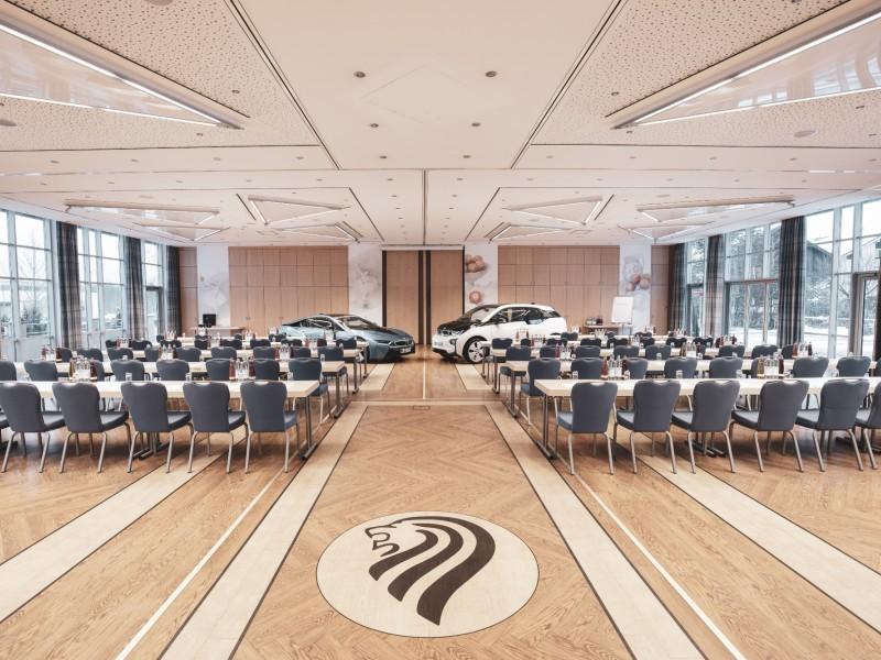 Tagungsräume für bis zu 300 Personen