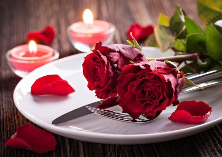 Valentinstagsmenü Restaurant südlich München