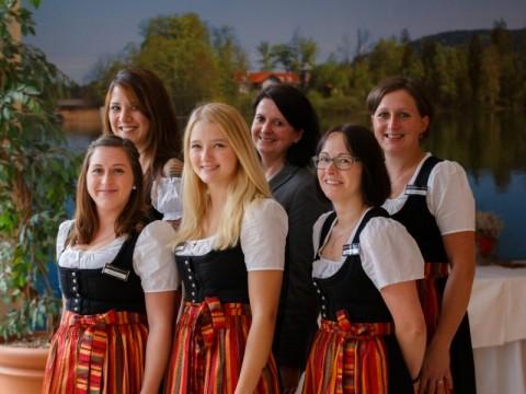 Empfangsteam im Bayerischen Hof Miesbach