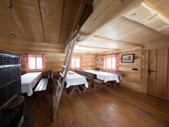 Insel im Schliersee Blockhütte