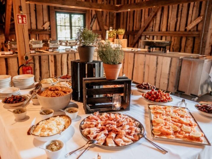 Buffet Hochzeit Miesbach