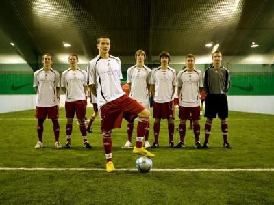 Fußball Trainingslager Bayern