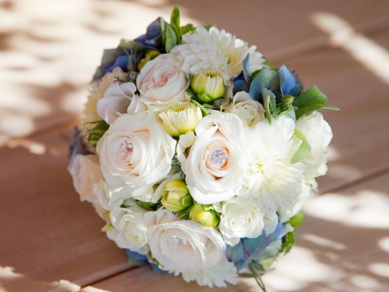 Blütenzeit Brautstrauß Miesbach
