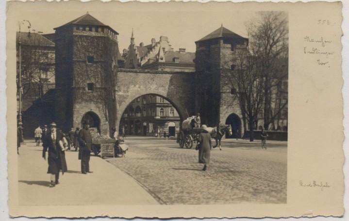 Sendlinger Tor in früheren Zeiten